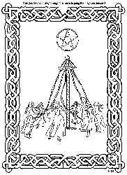 Free Pagan Coloring Pages by Lora Craig