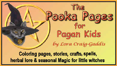 Pooka Pages for Pagan Kids